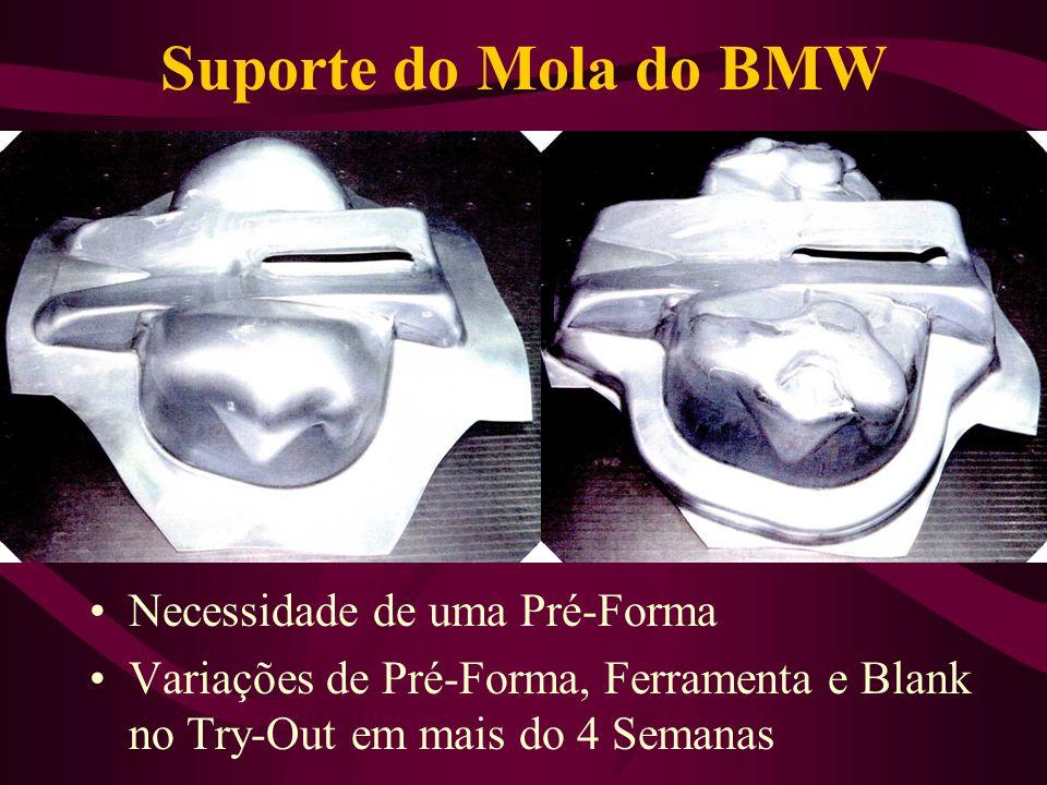Suporte do Mola do BMW Necessidade de uma Pré-Forma