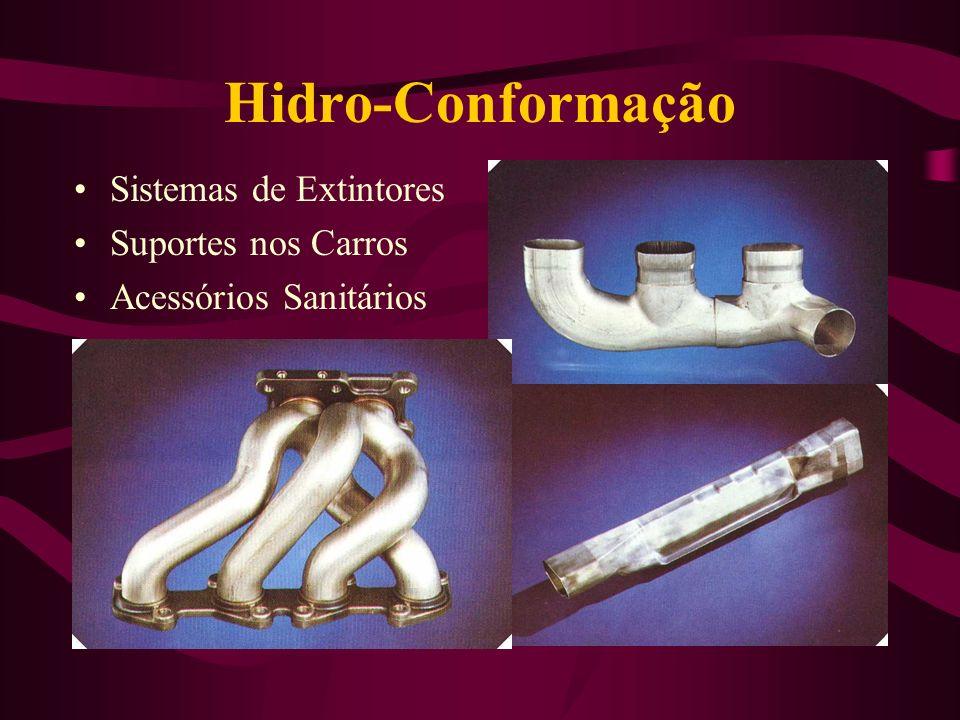 Hidro-Conformação Sistemas de Extintores Suportes nos Carros