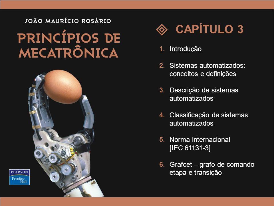 CAPÍTULO 3 1. Introdução. 2. Sistemas automatizados: conceitos e definições. 3. Descrição de sistemas automatizados.