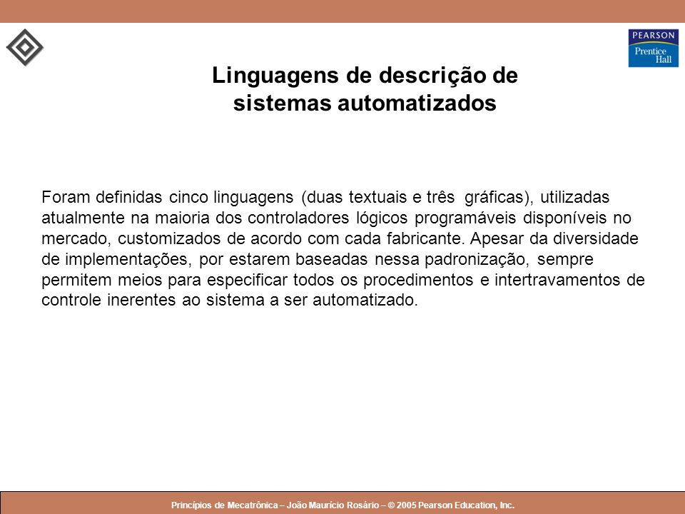 Linguagens de descrição de sistemas automatizados