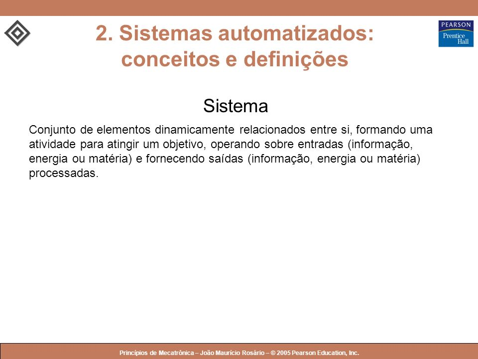 2. Sistemas automatizados: conceitos e definições