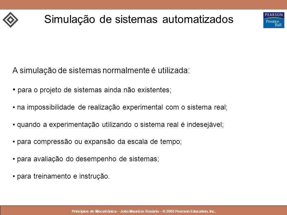 Simulação de sistemas automatizados