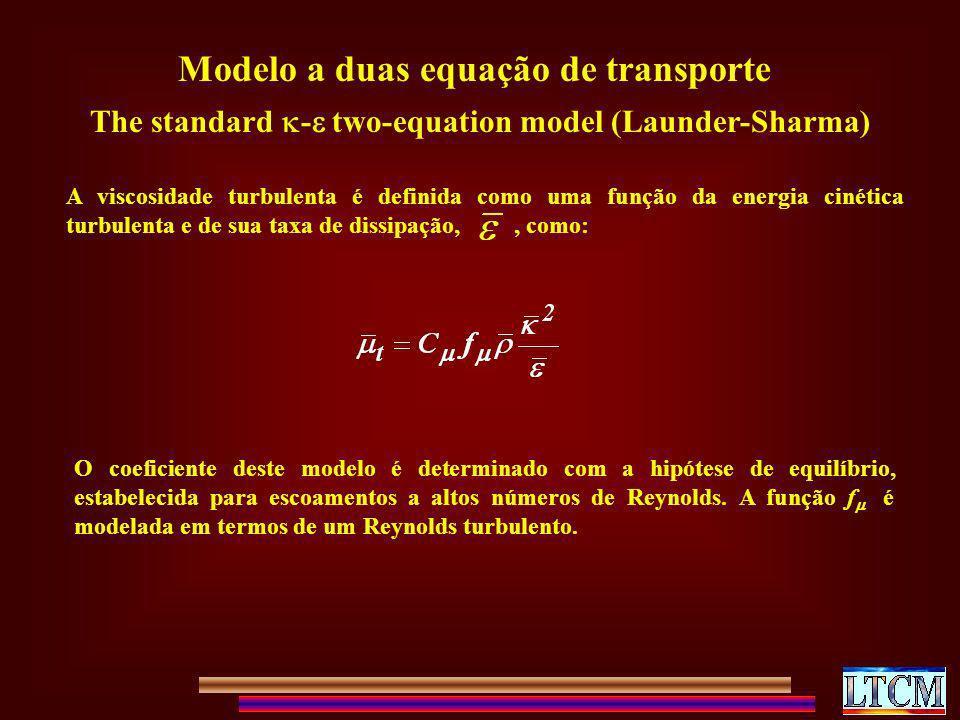 Modelo a duas equação de transporte
