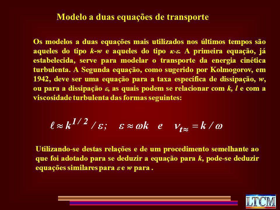 Modelo a duas equações de transporte
