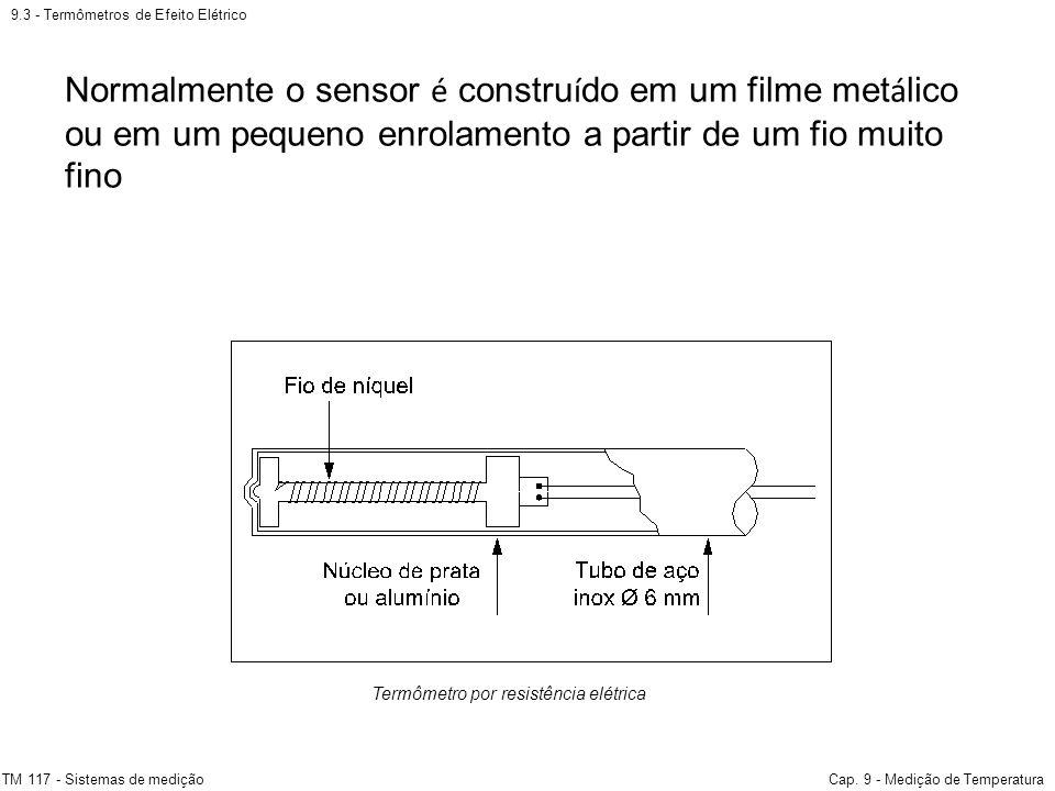 9.3 - Termômetros de Efeito Elétrico