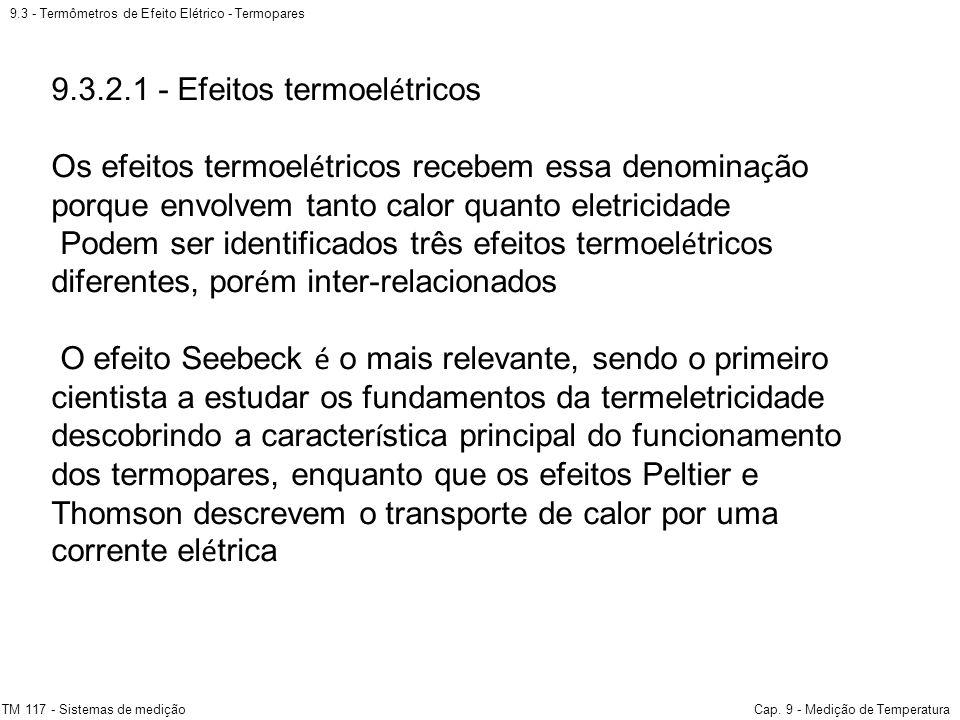9.3.2.1 - Efeitos termoelétricos