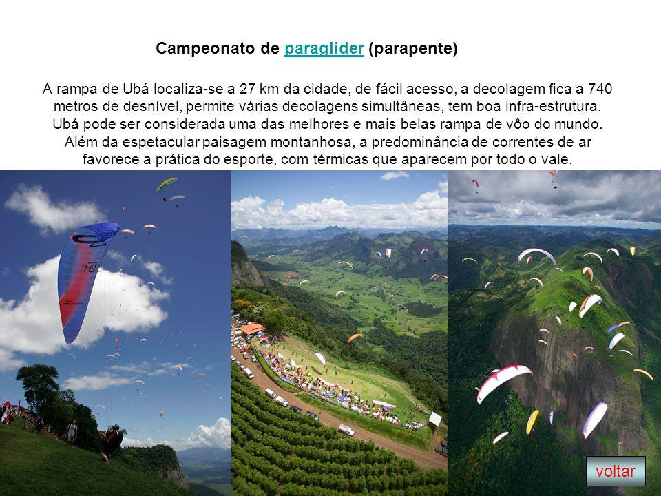 Campeonato de paraglider (parapente)