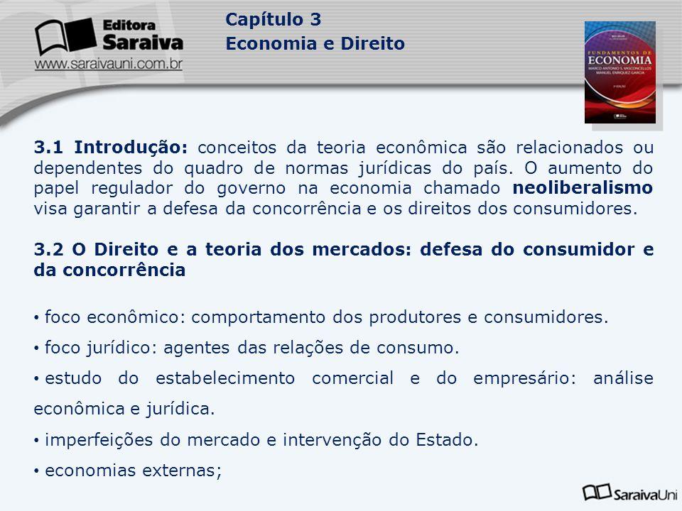 foco econômico: comportamento dos produtores e consumidores.