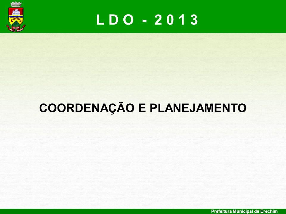 COORDENAÇÃO E PLANEJAMENTO