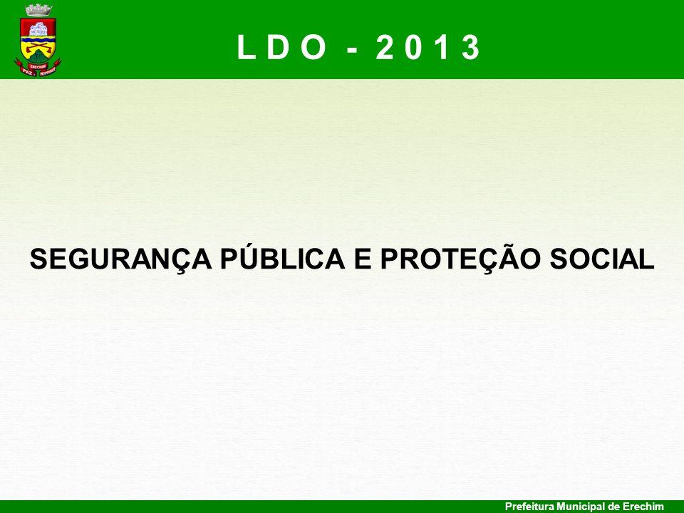 SEGURANÇA PÚBLICA E PROTEÇÃO SOCIAL