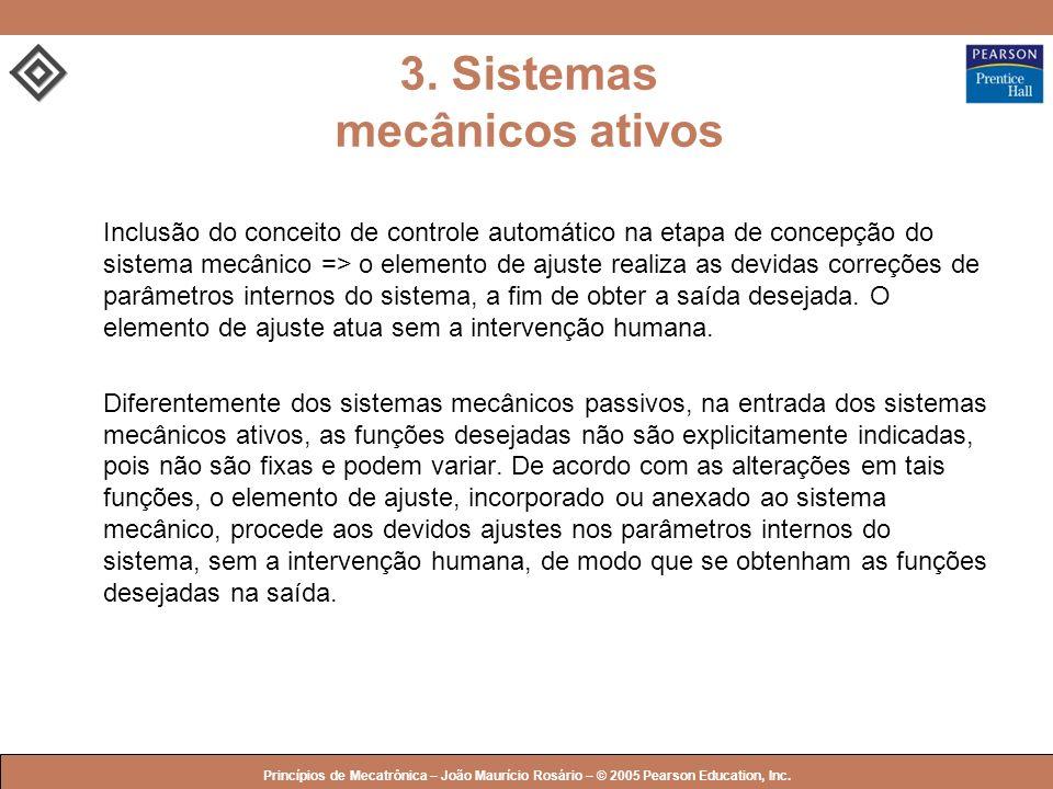 3. Sistemas mecânicos ativos