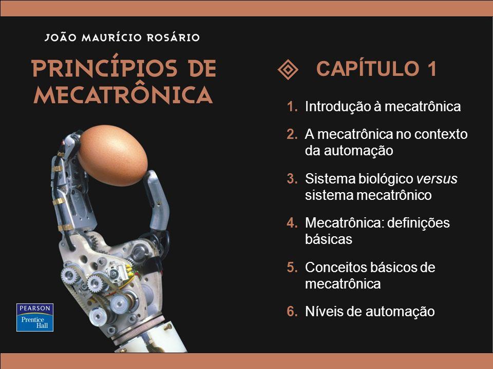CAPÍTULO 1 1. Introdução à mecatrônica