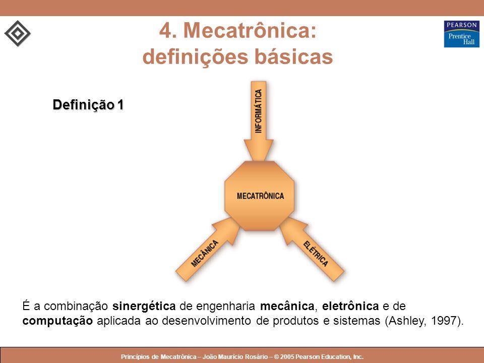 4. Mecatrônica: definições básicas