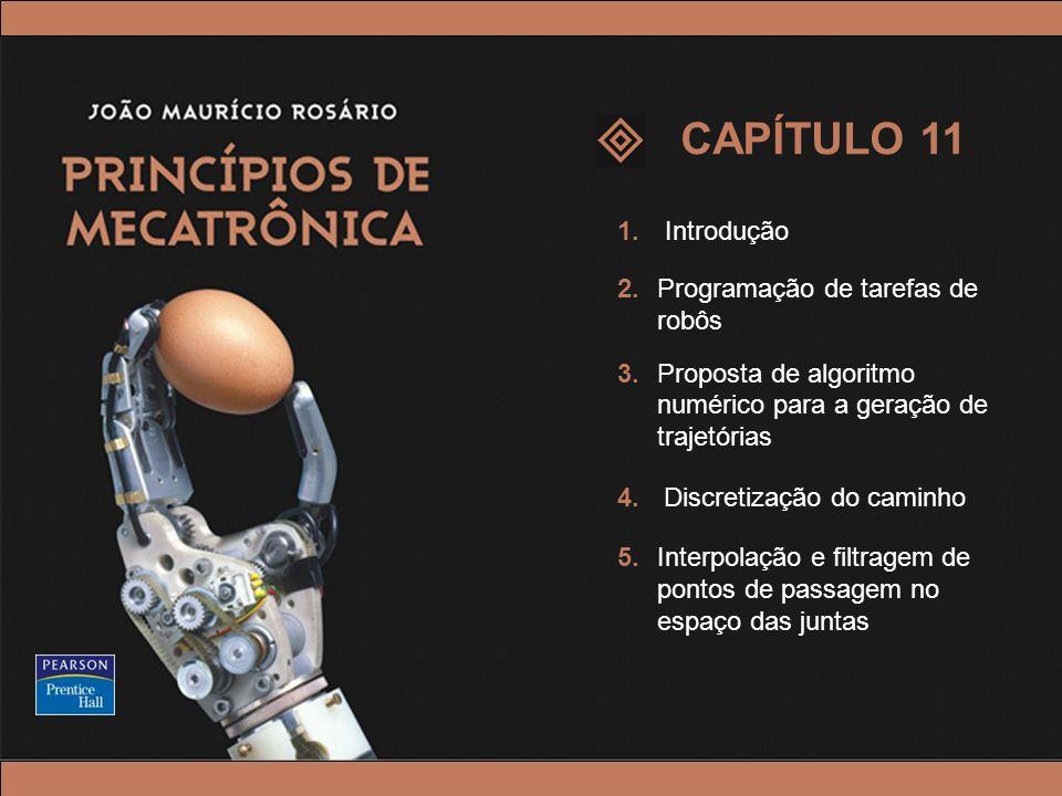 CAPÍTULO 11 1. Introdução 2. Programação de tarefas de robôs