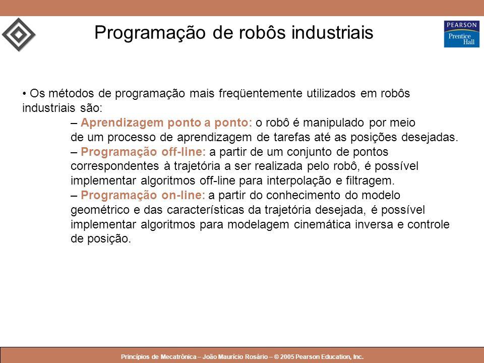 Programação de robôs industriais