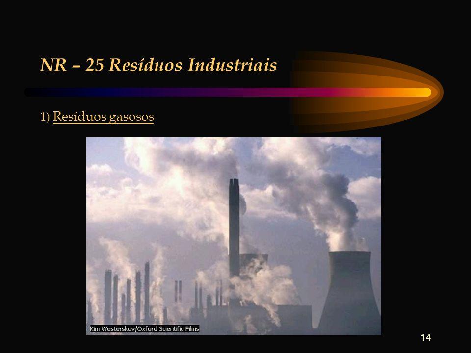 NR – 25 Resíduos Industriais