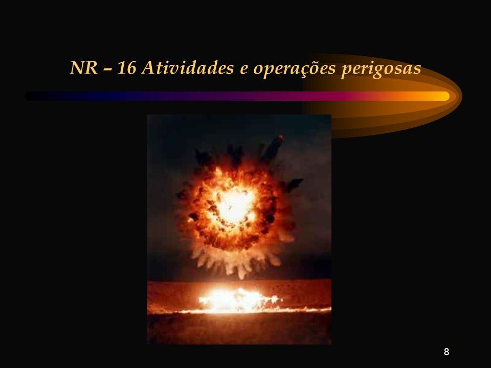 NR – 16 Atividades e operações perigosas