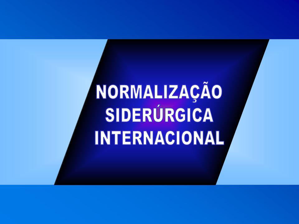 NORMALIZAÇÃO SIDERÚRGICA INTERNACIONAL