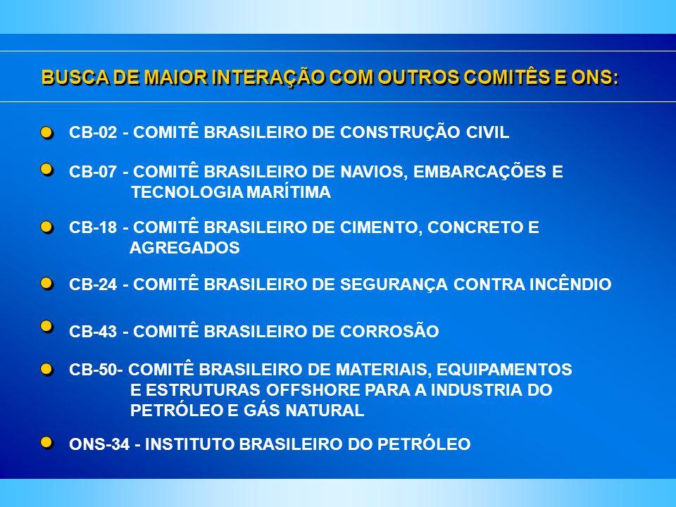 BUSCA DE MAIOR INTERAÇÃO COM OUTROS COMITÊS E ONS: