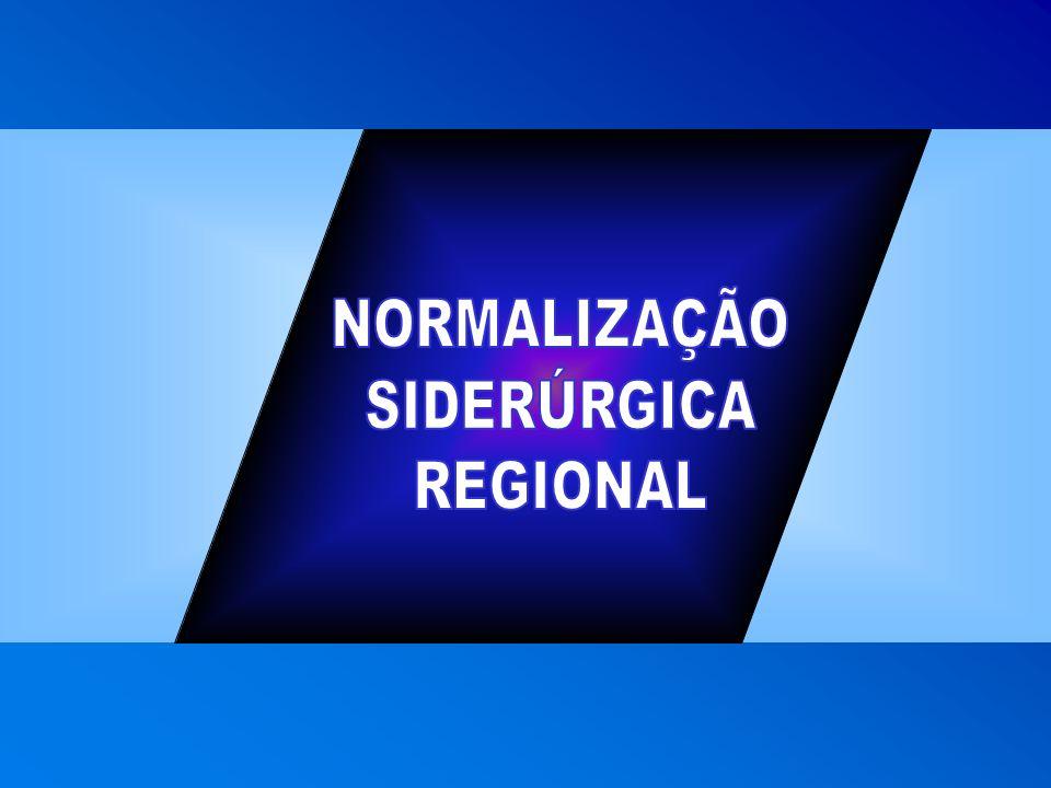 NORMALIZAÇÃO SIDERÚRGICA REGIONAL