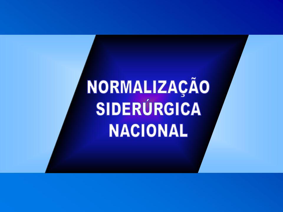 NORMALIZAÇÃO SIDERÚRGICA NACIONAL