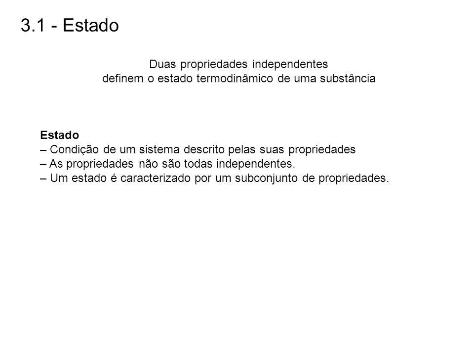 3.1 - Estado Duas propriedades independentes