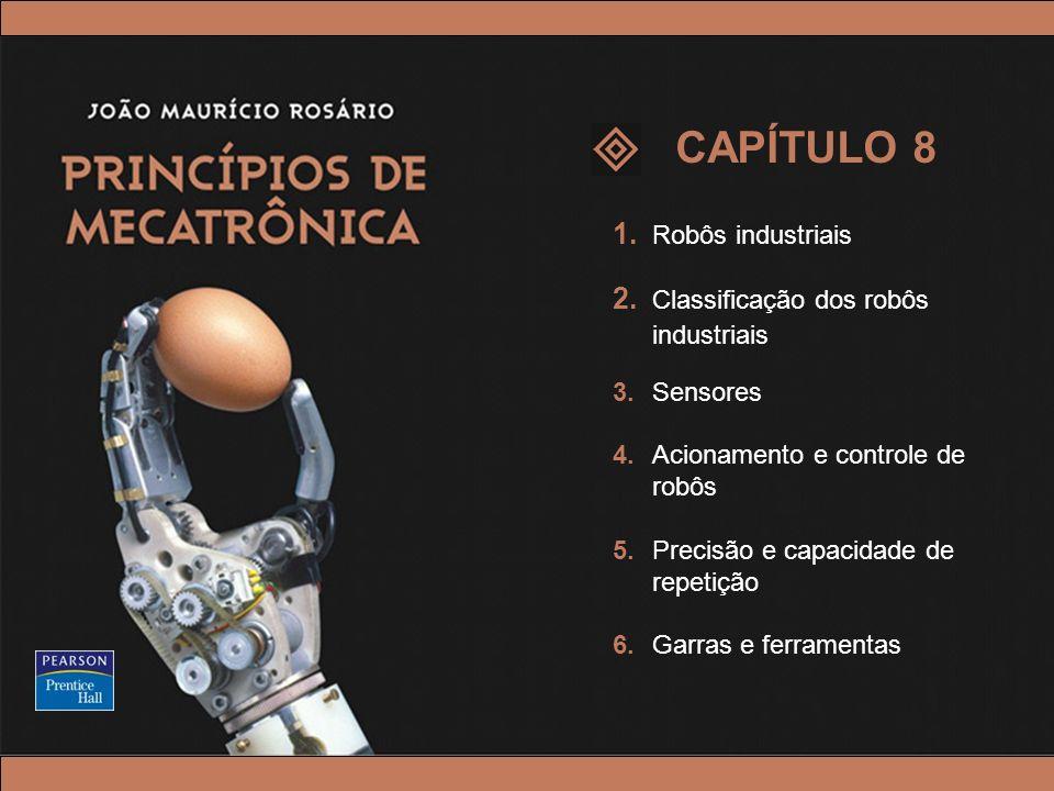 CAPÍTULO 8 1. Robôs industriais 2. Classificação dos robôs industriais