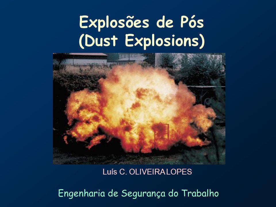 Explosões de Pós (Dust Explosions)