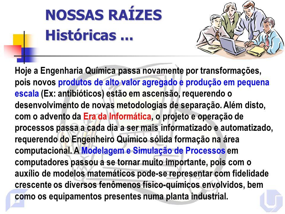 NOSSAS RAÍZES Históricas ...