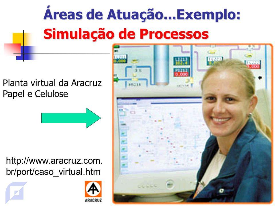 Áreas de Atuação...Exemplo: Simulação de Processos