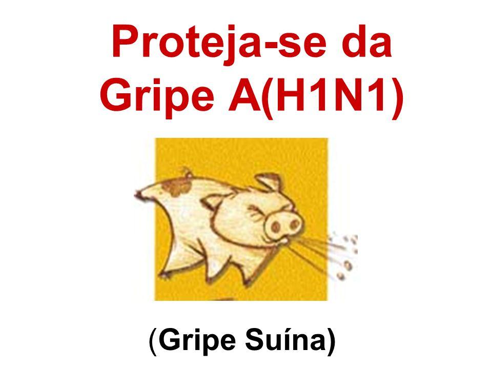 Proteja-se da Gripe A(H1N1)