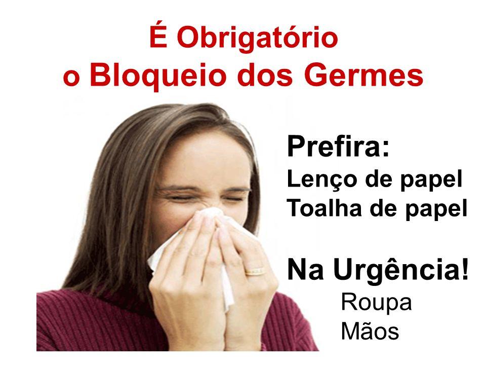 É Obrigatório o Bloqueio dos Germes
