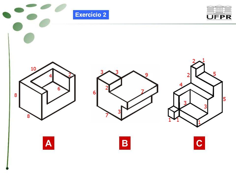 Exercício 2 A B C