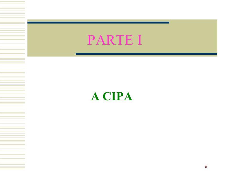 PARTE I A CIPA