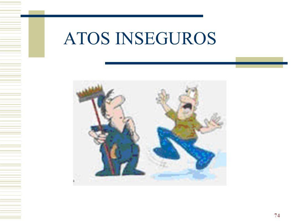ATOS INSEGUROS