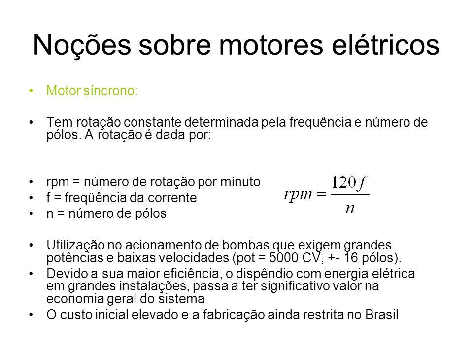 Noções sobre motores elétricos