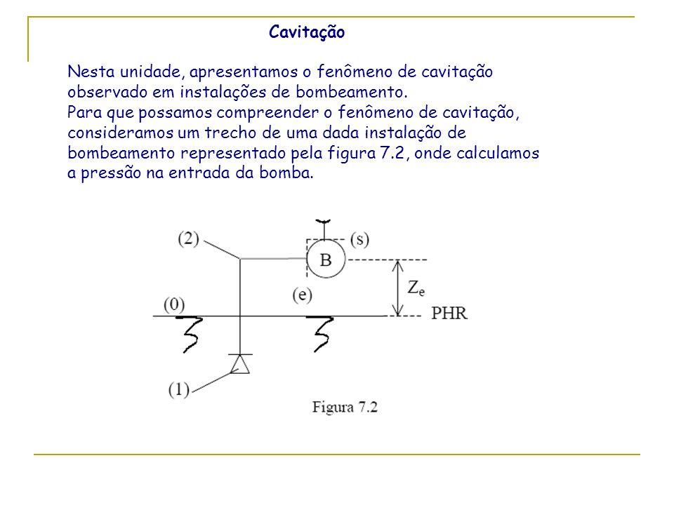 CavitaçãoNesta unidade, apresentamos o fenômeno de cavitação observado em instalações de bombeamento.
