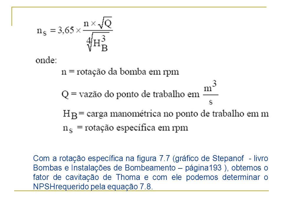 Com a rotação específica na figura 7