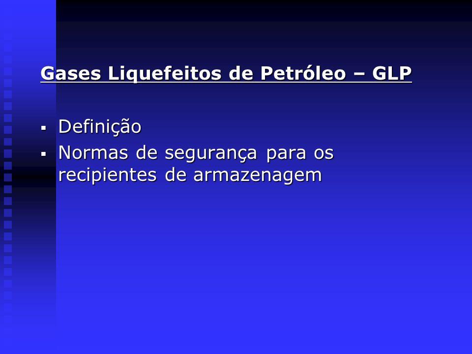 Gases Liquefeitos de Petróleo – GLP