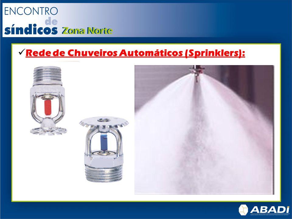 Rede de Chuveiros Automáticos (Sprinklers):