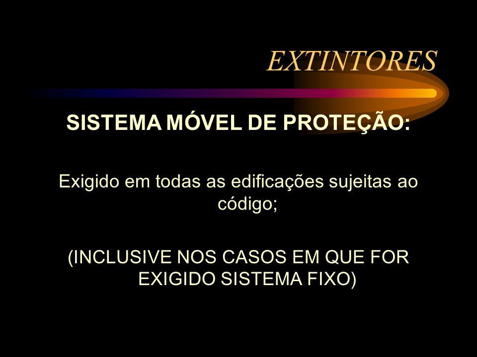 SISTEMA MÓVEL DE PROTEÇÃO:
