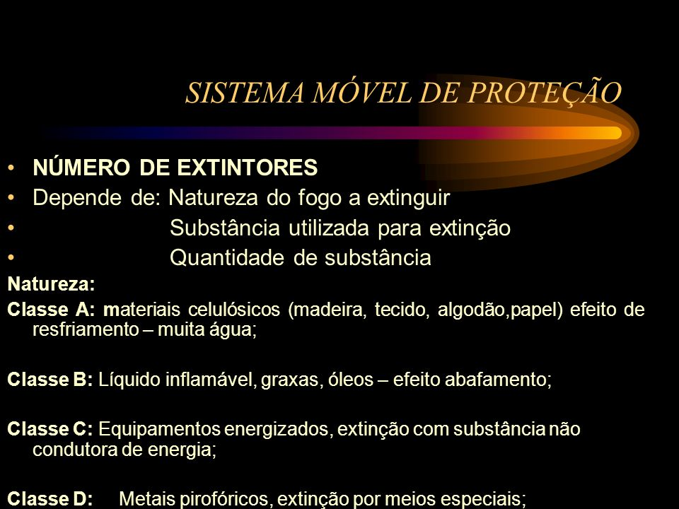 SISTEMA MÓVEL DE PROTEÇÃO