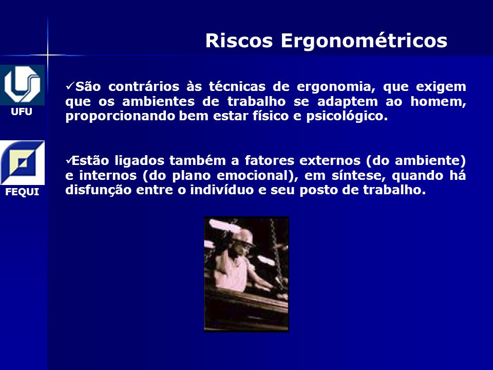 Riscos Ergonométricos