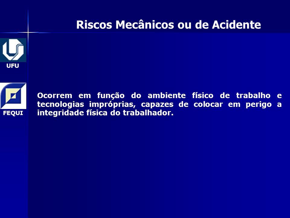 Riscos Mecânicos ou de Acidente