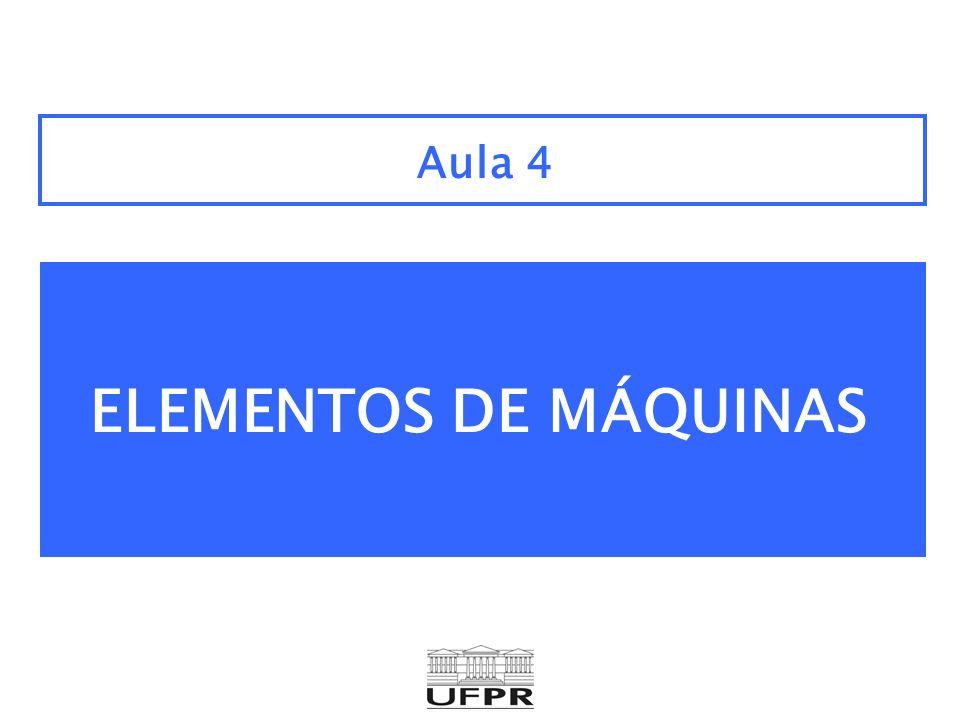 Aula 4 ELEMENTOS DE MÁQUINAS