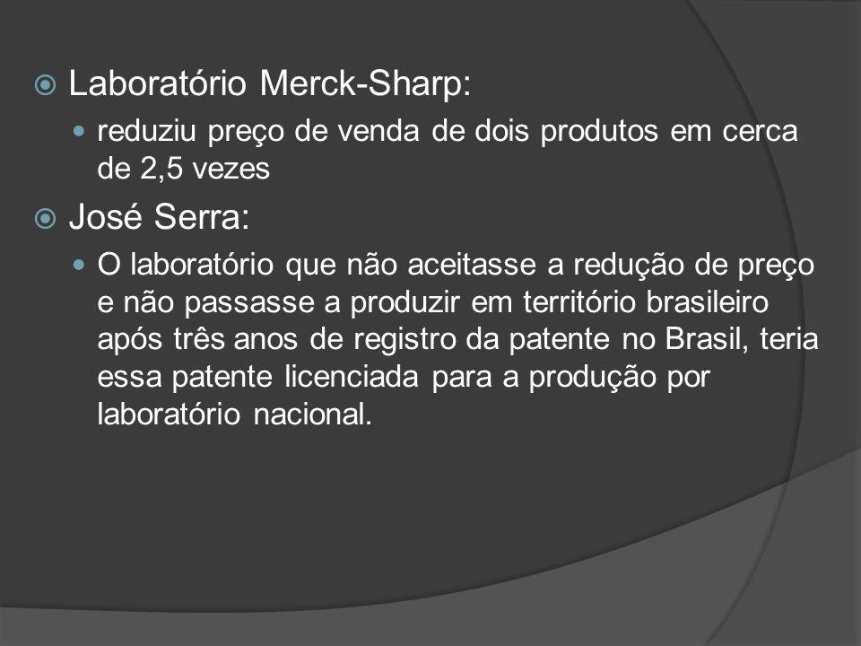 Laboratório Merck-Sharp: