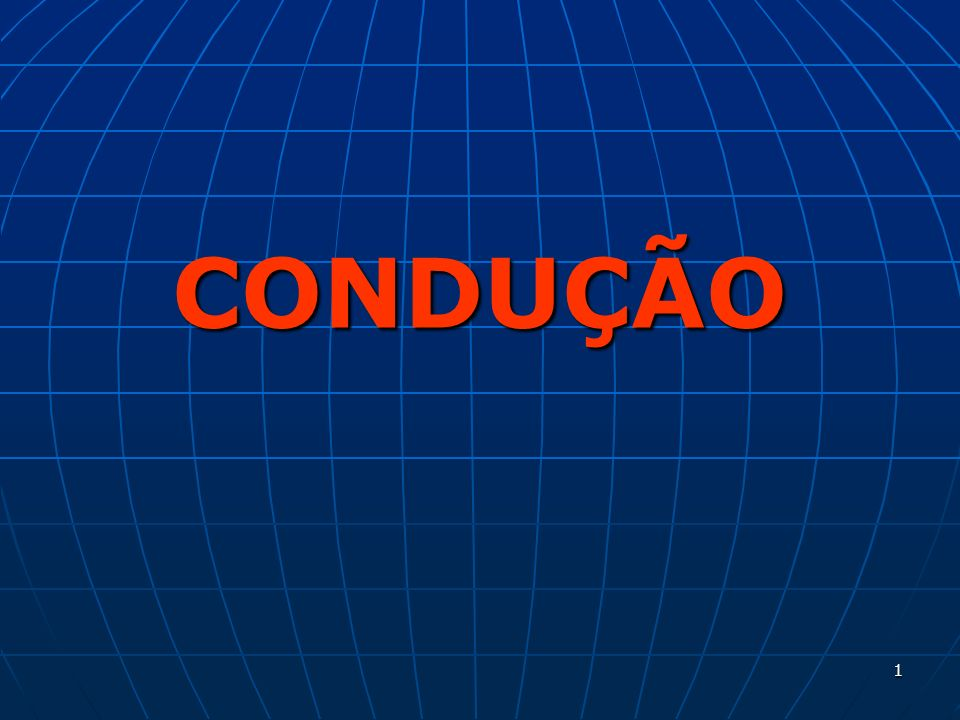 DEMEC- UFPR CONDUÇÃO