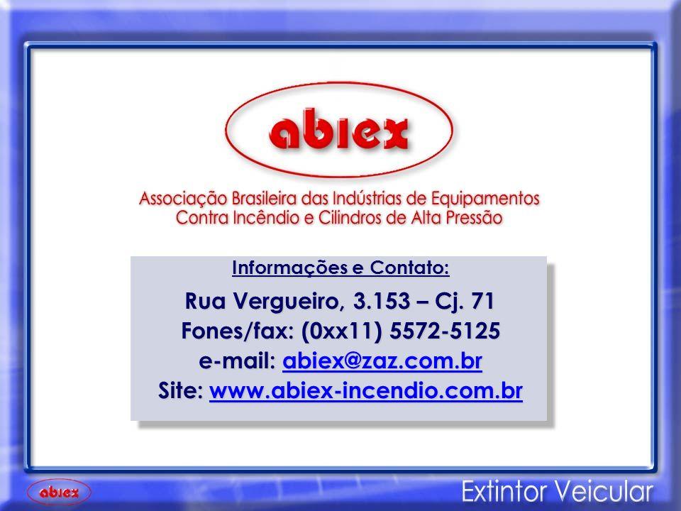 e-mail: abiex@zaz.com.br Site: www.abiex-incendio.com.br