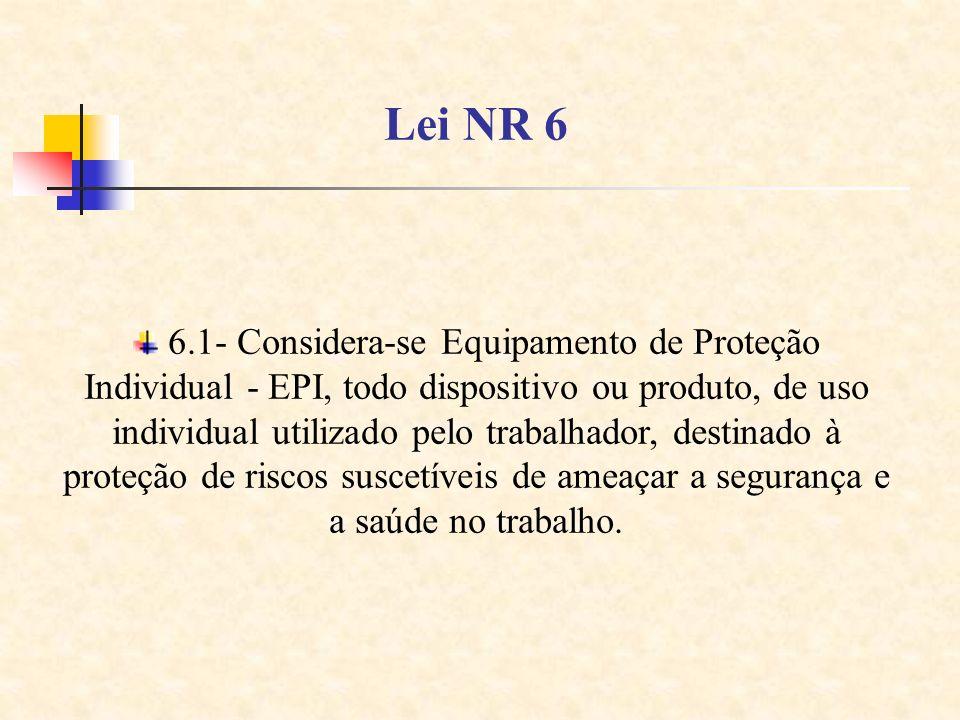 Lei NR 6