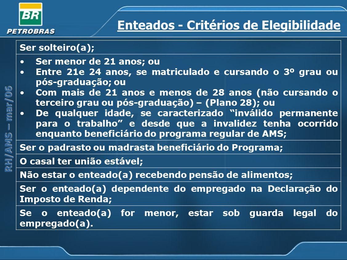 Enteados - Critérios de Elegibilidade